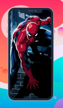 Spider Man Wallpaper 4K Free - Spider Backgrounds apk screenshot