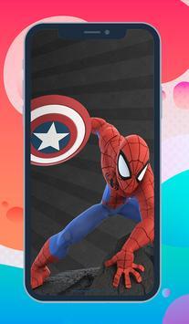 Spider Man Wallpaper 4K Free - Spider Backgrounds poster