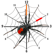 Spider Clock Widget icon