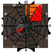 Spider Clock Widget icon