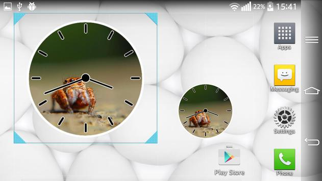 Spider Clock Widget apk screenshot