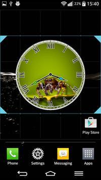 Spider Clock Widget screenshot 1