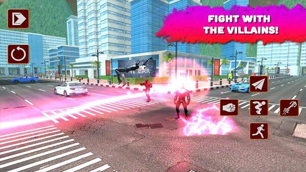 Spider Hero vs X-Hero 3D poster