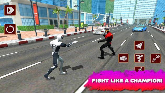 Spider Hero vs X-Hero 3D screenshot 2