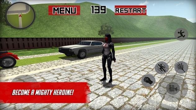Spider Hero: Girl mutant screenshot 6