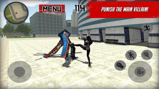 Spider Hero: Girl mutant screenshot 8