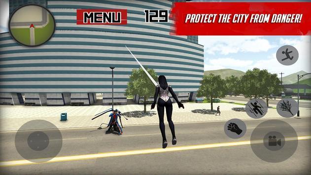 Spider Hero: Girl mutant screenshot 1