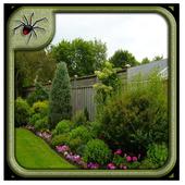 Metal Garden Fence Panels Design icon