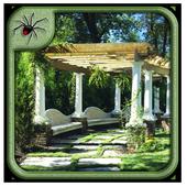 Modern Garden Arbor Design icon