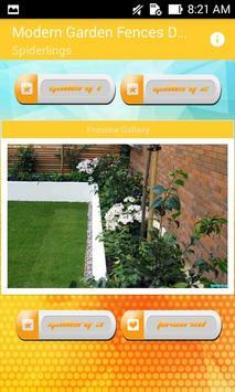 Modern Garden Fences Design Ideas poster
