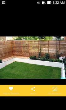 Modern Garden Fences Design Ideas screenshot 2
