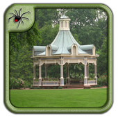 Modern Garden Gazebo Design icon