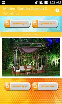 Modern Garden Gazebo Design screenshot 6