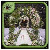 Garden Wedding Arches Design icon