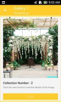 Garden Wedding Arches Design screenshot 1