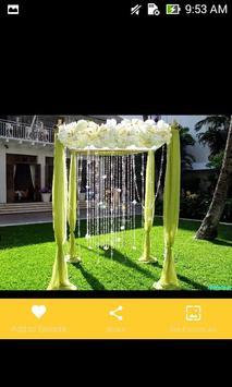 Garden Wedding Arches Design screenshot 2