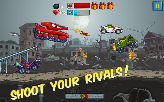 Car Eats Car - Apocalypse Racing screenshot 13