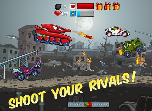 Car Eats Car - Apocalypse Racing screenshot 3
