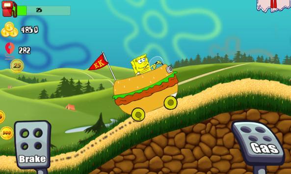 Sponge Car Climb Racing poster