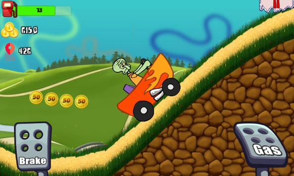 Sponge Car Climb Racing apk screenshot