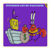 Spongebob Life HD Wallpaper icon