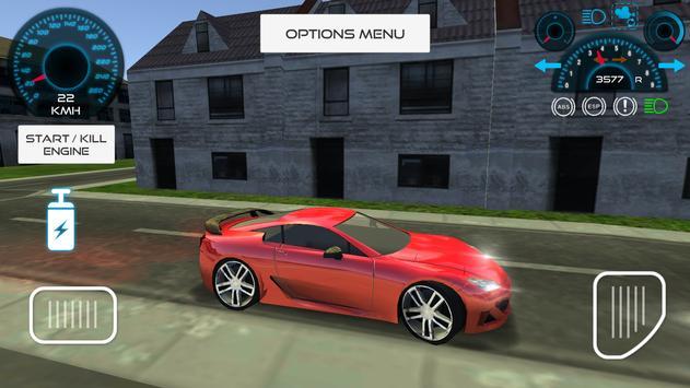 Sport Car Driving Simulator screenshot 4