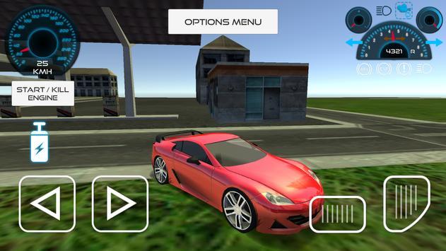 Sport Car Driving Simulator screenshot 7