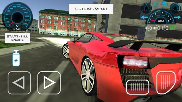 Sport Car Driving Simulator screenshot 3
