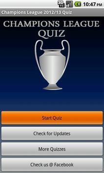 Champions League Quiz 2013/14 poster