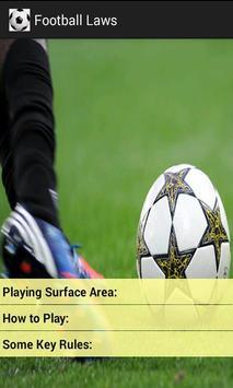 Football  Laws screenshot 1