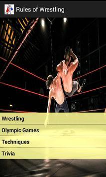 Rules of Wrestling screenshot 1