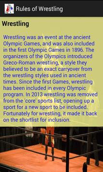 Rules of Wrestling screenshot 2