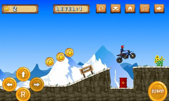 Hill Climb Sport Motorcycle In Wild Everest screenshot 4