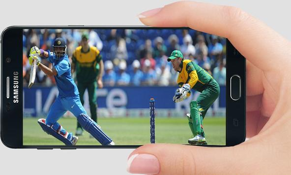 Live Cricket  HD Streaming screenshot 1