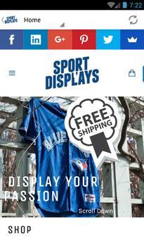 Sport Displays Jersey Mount poster