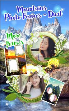 Mountains Photo Frames - Dual screenshot 4