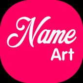 Stylish Name Art icon