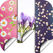Spring Flowers Backgrounds HD icon