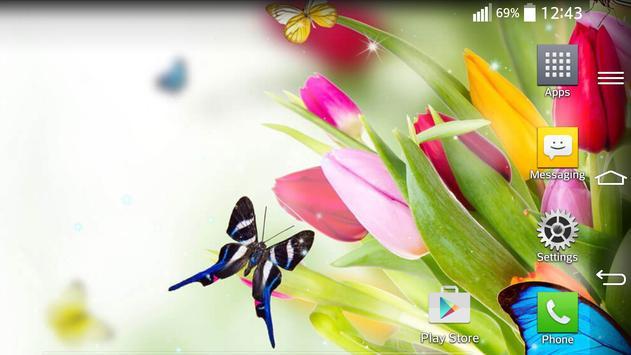 Spring Live Wallpaper apk screenshot