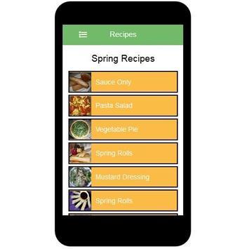 Spring Recipes screenshot 11
