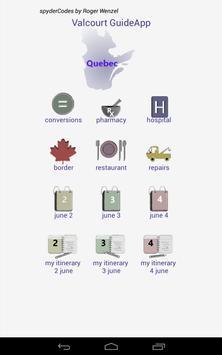 Valcourt GuideApp apk screenshot