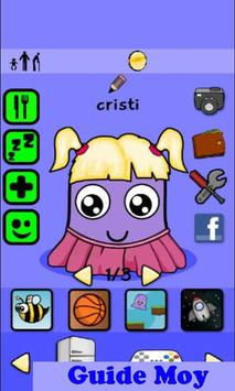 """Guide Moy """"Virtual pet game"""" poster"""