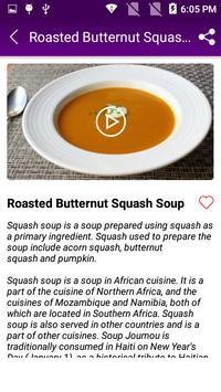 Squash Soup Recipe screenshot 4