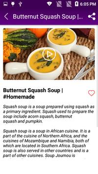 Squash Soup Recipe screenshot 2