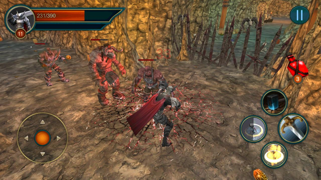 Battle of the Green Souls - 3D MMORPG Game for Android - APK