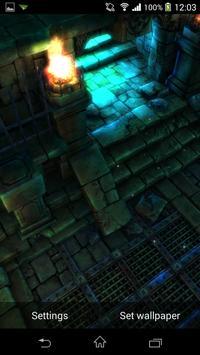 Dark Dungeon I Live Wallpaper screenshot 4