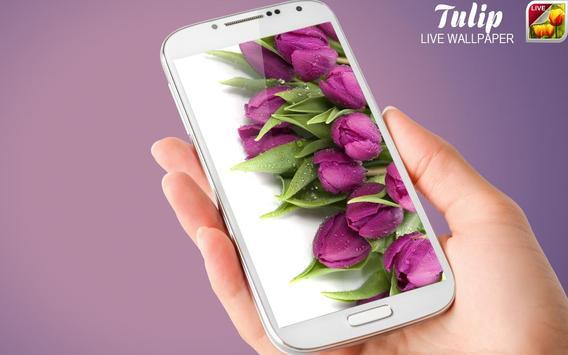 Tulip Live Wallpaper screenshot 11