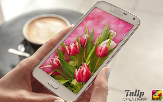 Tulip Live Wallpaper screenshot 9