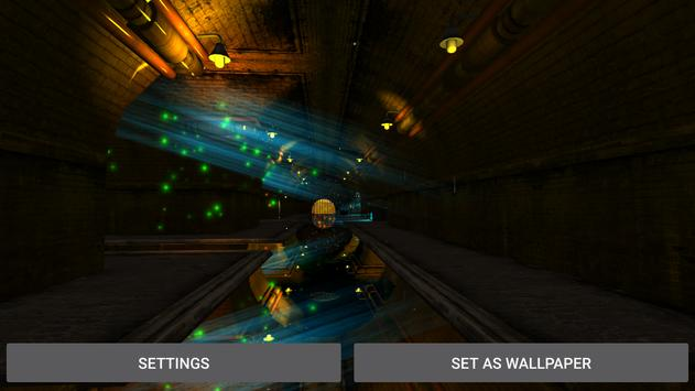 3D  Tunnel Live Wallpaper screenshot 13