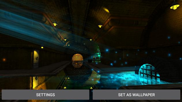 3D  Tunnel Live Wallpaper screenshot 19